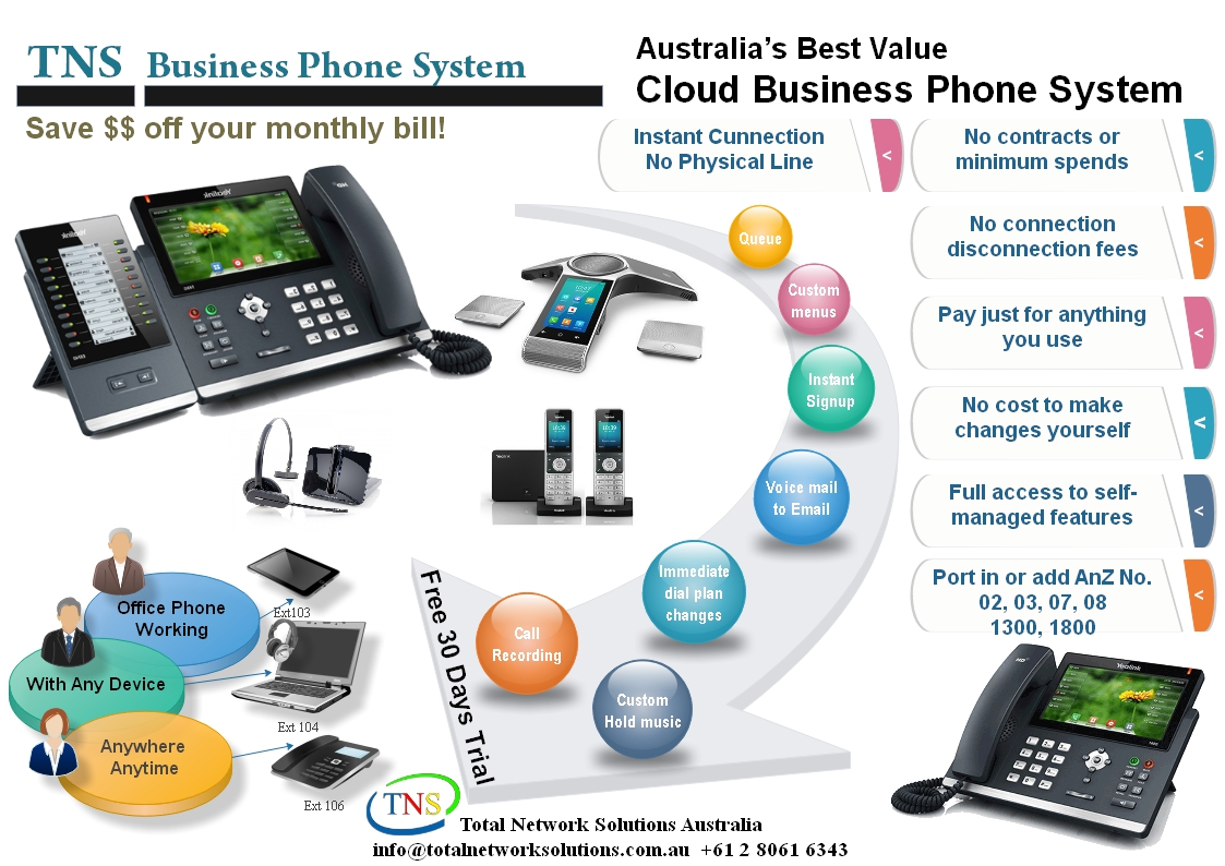 Business IP Phone System